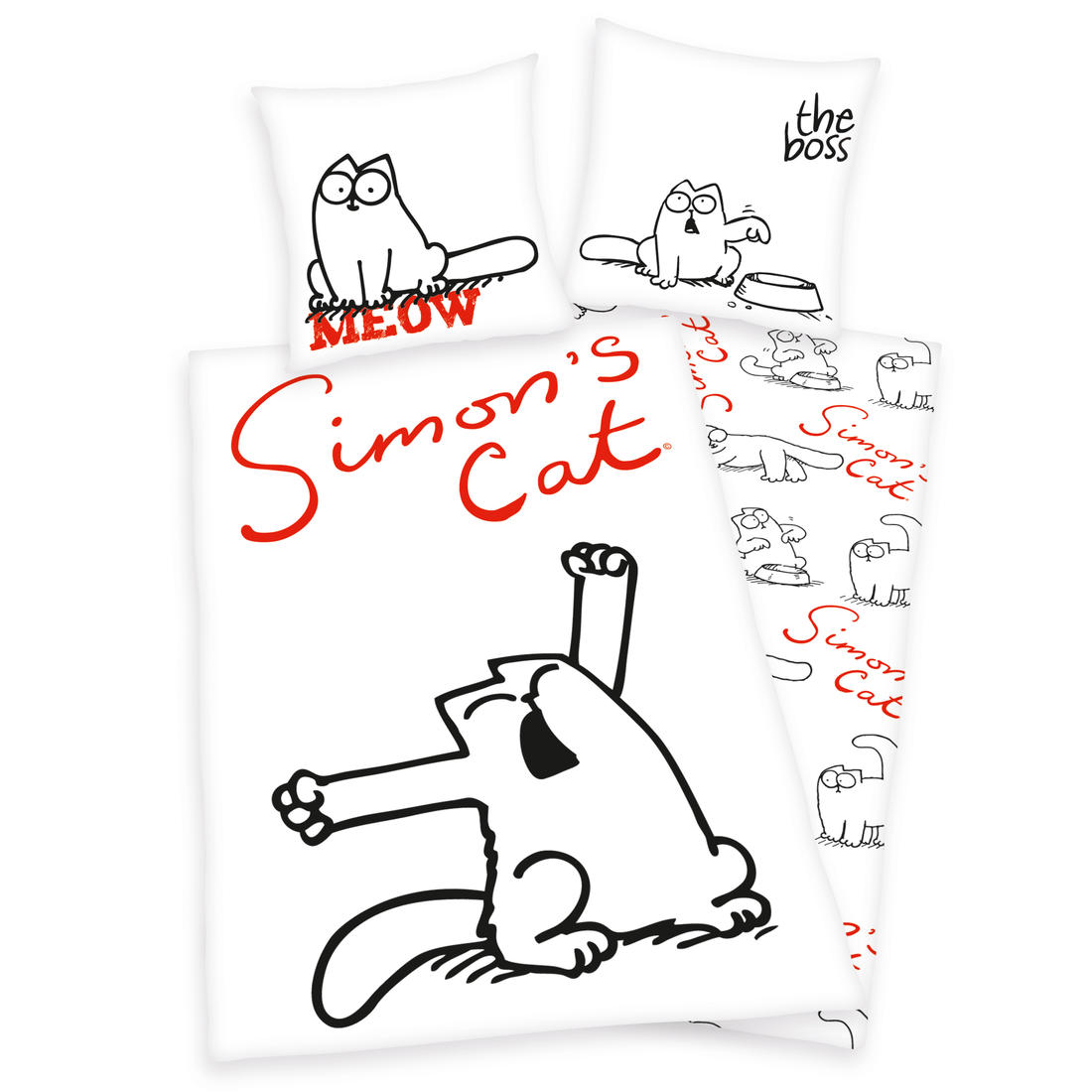 Simons Cat Bed Linen Getdigital