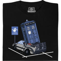 TARDIS Parking Only T-Shirt