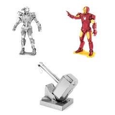 The Avengers Metal Earth 3D Craft Kits