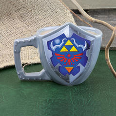 The Legend of Zelda Link Shield Mug