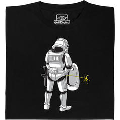 Stormtrooper in the Bathroom T-Shirt