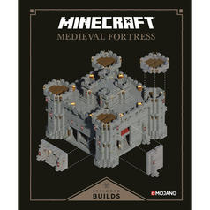 Minecraft Exploded Builds - Medieval Fortress