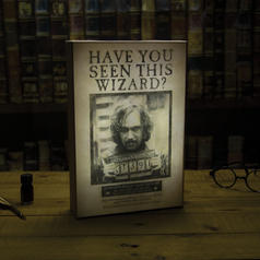 Harry Potter Luminart Sirius Black