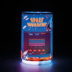 Space Invaders Mini Projection Light