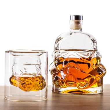 Stormtrooper Whiskey Tumbler and Decanter