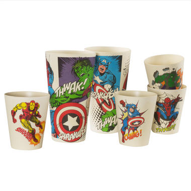 Marvel Bamboo Tumblers